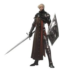 Male Human Sword and Shield Inquisitor - Pathfinder PFRPG DND D&D 3.5 5th ed d20 fantasy