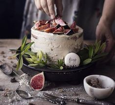 recetas dulces con higos Fig Recipes, Cakes, Sweet And Saltines, Sweet Recipes, Deserts, Cookies, Figs, Pies, Cook