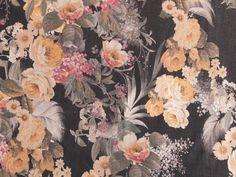 Ramone Linen & Viscose - Black Dressmaking Fabric