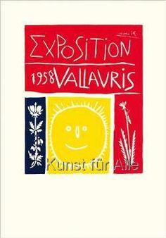Pablo Picasso - Vallauris Exposition, 1958