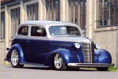 Retro Cars, Vintage Cars, Hot Rods, Chevy Hot Rod, Chevrolet Sedan, Chevy Motors, Jdm, Fuel Truck, Car Man Cave