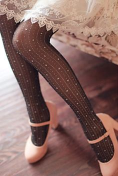 Heart tights ... Loving this prettiness