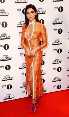 Love Your Look: Dua Lipa Radio 1 Teen Awards Alessandra Rich | British Vogue