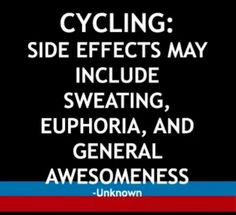 Side effects #cyclingindoor