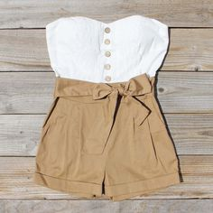 Road Trip Romper, Sweet Affordable Rompers & Dresses from Spool 72. | Spool No.72