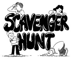 camping scavenger hunt. Have kids search for camp related items and put in a backpack.