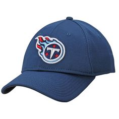 Tennessee Titans NFL Pro Line Rushmore Stretch Fit Hat - Navy 6d3c5efb7