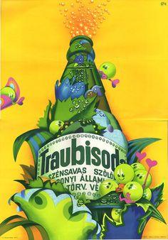 vertel beatrix traubisoda - Google Search Vintage Advertisements, Retro Vintage, Restaurant Pictures, Illustrations And Posters, Vintage Posters, Retro Posters, Some Pictures, Travel Posters, Old Photos