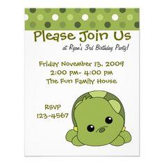 Turtle Cutie Invite