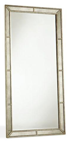 Farrah Beveled Floor Mirror by Pulaski Furniture at Wayside Furniture Pulaski Furniture, Mirrored Furniture, Large Furniture, Mirror Border, Circular Mirror, Online Furniture Stores, Affordable Furniture, Beveled Mirror, Floor Mirror