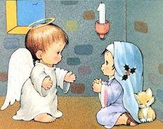 Resultado de imagen para imagenes de la anunciacion para niños