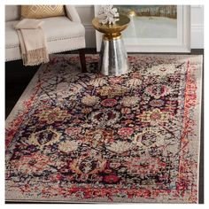 Farrah Rug - Grey/Multi - Safavieh, Variation Parent