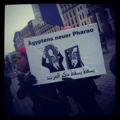 .@artnite | Ägyptens neuer Pharao - #berlin #tahrir | Webstagram - the best Instagram viewer