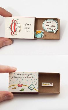 Pin by fra newhill on gif Geschenk Presents For Girls, Presents For Boyfriend, Boyfriend Gifts, Matchbox Crafts, Matchbox Art, Wedding Gifts For Groomsmen, Groomsman Gifts, Simple Gifts For Friends, Diy Crafts For Girls
