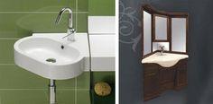 corner bathroom sinks for small bathroom design
