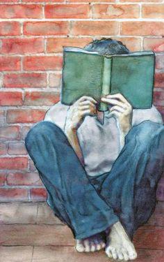 Dibujo de Eduardo Estrada para la serie 'Me cago en mis padres'.