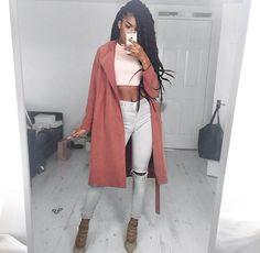 sexy and classy👍🏾 Fashion Moda, Love Fashion, Winter Fashion, Womens Fashion, Outfits Otoño, Fall Outfits, Looks Style, My Style, Fashion Killa