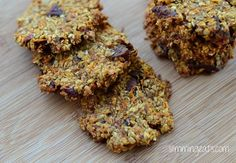 Slimming Eats Healthy Extra Carrot Cake Flapjack Cookies - gluten free, dairy free, Slimming World (SP) and Weight Watchers friendly Healthy Breakfast Wraps, Healthy Breakfast For Weight Loss, Healthy Recipes For Weight Loss, Healthy Eating Recipes, Healthy Baking, Dog Food Recipes, Healthy Snacks, Cooking Recipes, Healthy Cookies