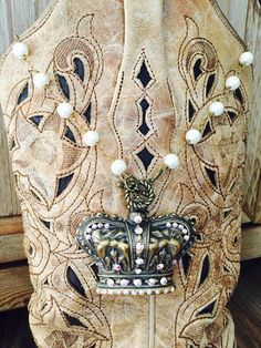 Where's My Crown Necklace ~ Pink Panache