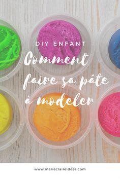 Comment faire sa pâte à modeler / diy pate a modeler / recette pate a modeler