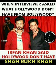 Yessss It is? Real Facts, Wtf Fun Facts, True Facts, Bollywood Quotes, Bollywood Actors, Richest Actors, Irrfan Khan, India Facts, Best Hero