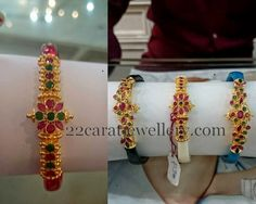 Jewellery Designs: 8 Grams Changeable Gold Bangels