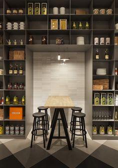 Concrete heeft het nieuwe restaurant The Kitchen in De Bijenkorf-vestiging in Eindhoven ontworpen