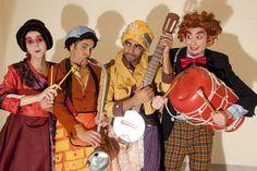 Sagoni-Sagoná, Will, Suedya e Dr. ZagaZaga da Zalazabra