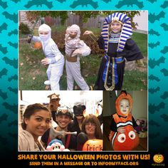 Hey myFriends, we'd love to see your #Halloween costumes! Feel free to share your photos with us or email them to info@myFace.org