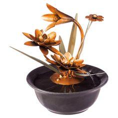 Evergreen Enterprises Lotus Wonders Tabletop Fountain - 47M369