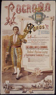 Toros y fiestas. Plaza de toros de Logroño — Dibujos, grabados y fotografías — 1882 http://bdh-rd.bne.es/viewer.vm?id=0000018782