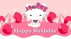 The perfect HappyBirthday HelloKitty Animated GIF for your conversation. Discover and Share the best GIFs on Tenor. Cat Gif, Kitty Gif, Hello Kitty, Gif Pictures, Sanrio, Animated Gif, Happy Birthday, Birthday Stuff, Minnie Mouse