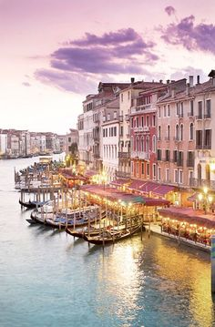 Venice Photography - Evening at the Rialto Bridge