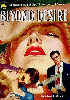 Beyond Desire - 1952 - Pulp Novel Cover Poster