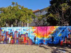 panorama:  Engenharia Usa Grafiteiros pra Revitalizar Predio...
