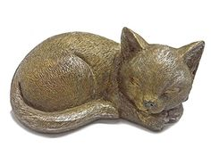 Find amazing Sleeping Garden Animal Statue Outdoor Yard Figurine (Cat) cat gifts for your cat lover. Great for any occasion! Garden Animal Statues, Garden Animals, Smiling Cat, Cat Grass, Cat Statue, Cats For Sale, Stone Statues, Cat Garden, Cat Memorial