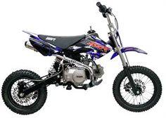 SR125 Mini Dirt Bike 125cc 4-Speed Manual Clutch Pit Bike