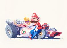 Grand Prix Mario Timelapse - Max Ulichney