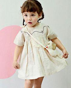 annikaクレムジュワンピース - 韓国子供服tsubomi かわいい輸入服のセレクトショップ