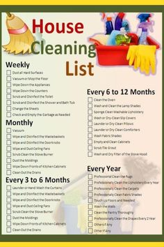 Ideas for daily cleaning list printable ideas Monthly Cleaning Schedule, Clean House Schedule, House Cleaning Checklist, Weekly Cleaning, Deep Cleaning Tips, Cleaning Solutions, Toilet Cleaning, Car Cleaning, Spring Cleaning