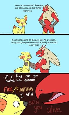They better not make another Fire/Fighting Type!!!