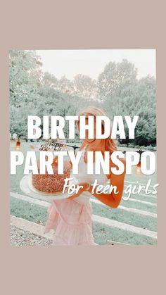 Birthday Party For Teens, 16th Birthday, Birthday Ideas, Birthday Freebies, Life Hacks, Birthdays, Presents, Bffs, Party Ideas