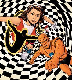 The Silver Age: Doom Patrol - Evan Shaner Comic Book Artists, Comic Books Art, Comic Artist, Dc Vibe, I In Team, Mark Waid, Arte Nerd, Justice Society Of America, Doom Patrol