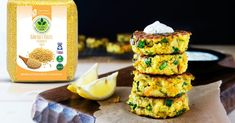 Beautifully seared Millet Patties crispy on the outside, soft and chewy in the inside and full of wonderful, delicious millet flavor. Millet Recipes, Sushi, Side Dishes, Vegetarian, Yummy Food, Vegetables, Cooking, Healthy, Ethnic Recipes