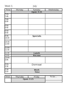 this is an editable word document containing a m f planner page an attendance page