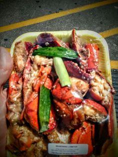 Houston, TX: Viet Hoa Supermarket - Asian style Lobster