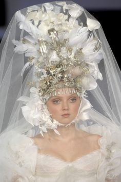 Lily Cole for Christian Lacroix 2007
