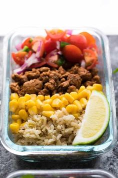 20 Healthy Meal Prep Bowls To Make Your Life Stress Free Lunch Meal Prep, Meal Prep Bowls, Easy Meal Prep, Healthy Meal Prep, Easy Healthy Recipes, Healthy Snacks, Easy Meals, Healthy Eating, Yummy Recipes