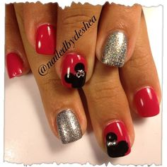 Minimouse  by Mamashea5 from Nail Art Gallery