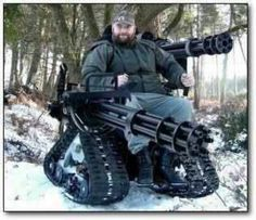 Assault chair.